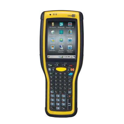 CipherLab A973C5V2N51SP - Alphanumeric PDA - Zwart, Geel