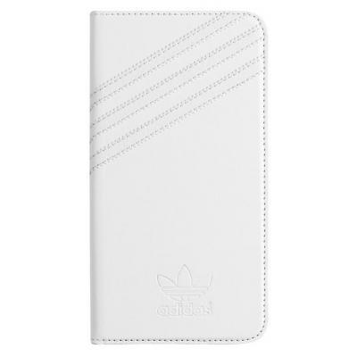 Adidas Basics Premium Booklet Cover Case, Apple iPhone 6 Plus Mobile phone case - Wit