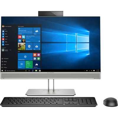 HP EliteOne 800 G5 All-in-one pc - Zwart, Zilver