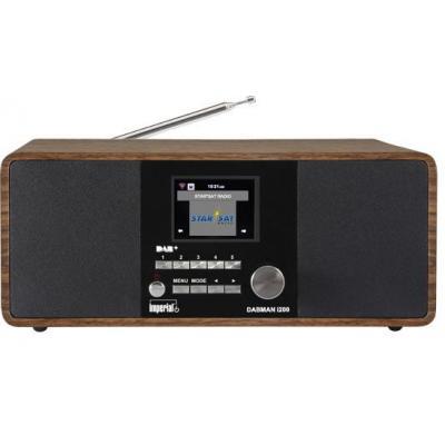 Telestar radio: Dabman i200 - Zwart, Hout
