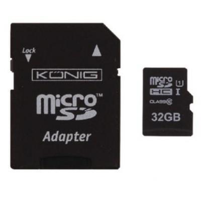 König CSMSDHC32GB flashgeheugen