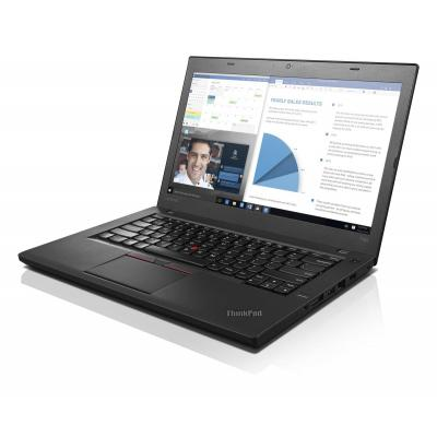 Lenovo laptop: ThinkPad T460 - Zwart