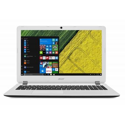 Acer laptop: Aspire ES1-523-610Y - Zwart, Wit, QWERTY