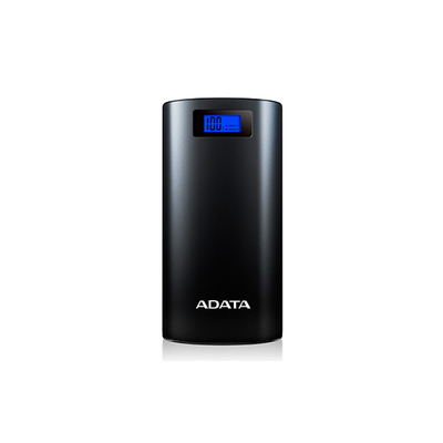 Adata powerbank: P20000D - Zwart