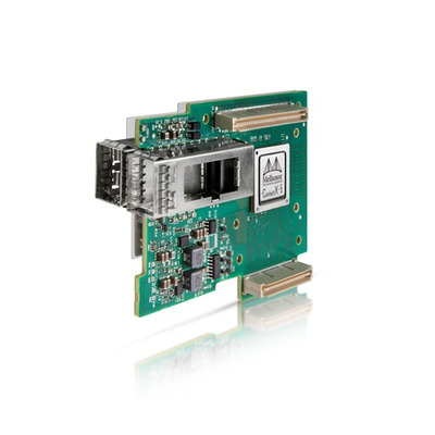 Mellanox Technologies CONNECTX-5 EN Netwerkkaart - Zwart, Groen, Zilver, Wit