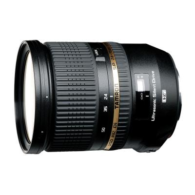Tamron camera lens: SP 24-70mm F/2.8 Di VC USD, Canon