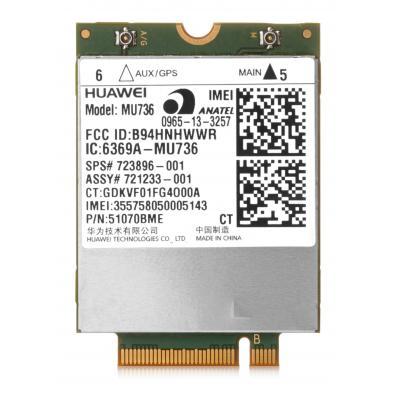 HP hs3110 HSPA+ Mobile Broadband Module netwerkkaart - Groen