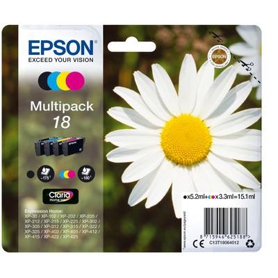Epson C13T18064012 inktcartridges