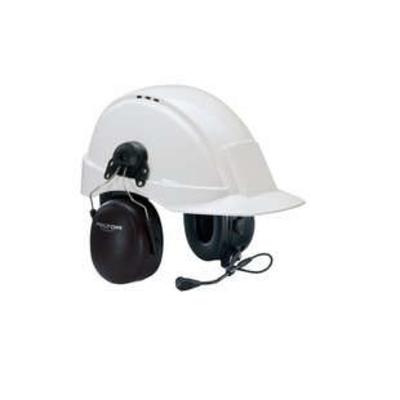 3M Headset met helmbevestiging, 32 dB, J11 - Zwart