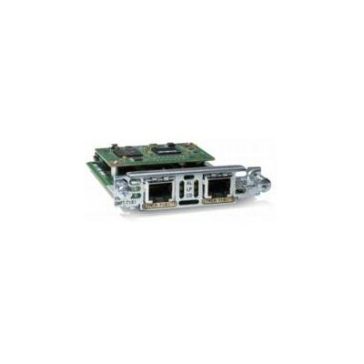 Cisco voice network module: VWIC2-2MFT-G703-RF