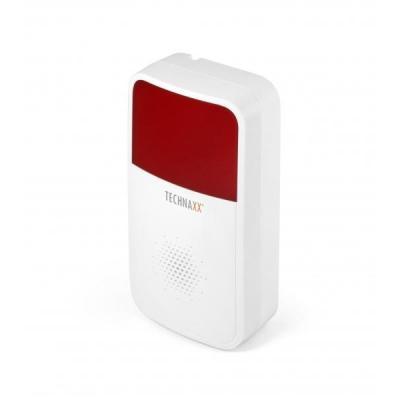 Technaxx alarm ringer: TX-88 - Rood, Wit