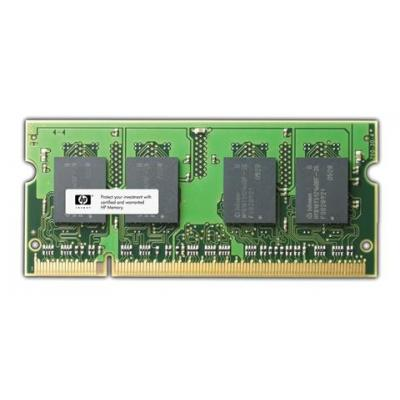 HP 4GB, 800MHz, PC2-6400, DDR2 SDRAM Small Outline Dual In-Line Memory Module (SODIMM) RAM-geheugen