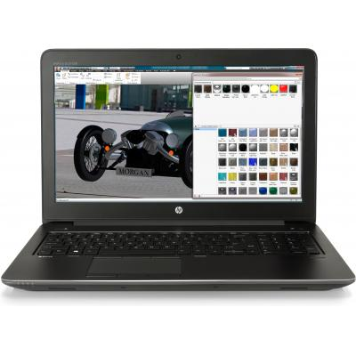 HP laptop: ZBook ZBook 15 G4 mobiel workstation - Zwart (Demo model)