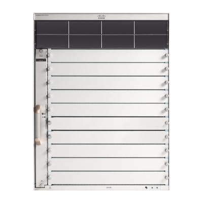 Cisco netwerkchassis: Catalyst 9400 Series 10 slot chassis - Zwart, Grijs