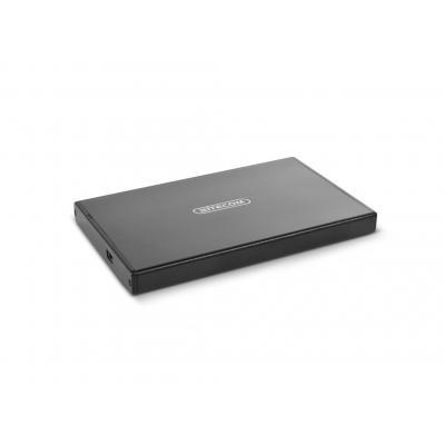 "Sitecom USB 2.0 Hard Drive Case SATA 2.5"", Black Behuizing - Zwart"