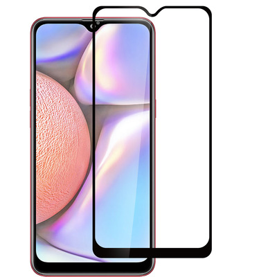 ESTUFF Samsung Galaxy A10s Screen protector - Zwart,Transparant
