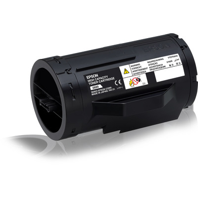 Epson High Capacity Cartridge Black Toner - Zwart