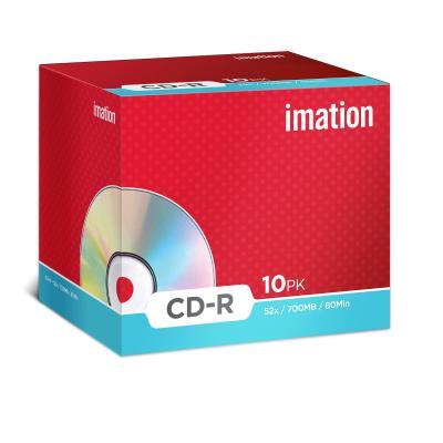 Imation CD: 10 x CD-R 700MB
