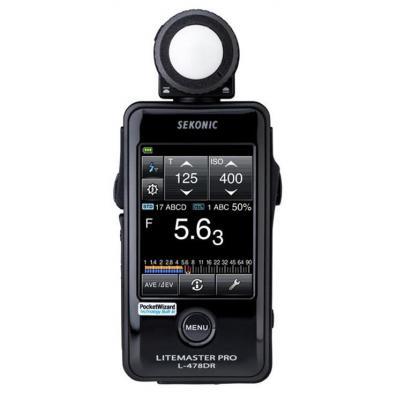 Sekonic lichtmeter: L-478DR - Zwart