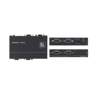 Kramer Electronics 1:3 Computer Graphics Video Distribution Amplifier Signaalversterker TV - Zwart