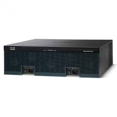Cisco router: 3925E - Zwart