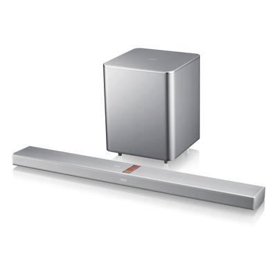 Samsung soundbar speaker: HW-F751 -2.1, 310W, Bluetooth, HDMI, USB - Zilver