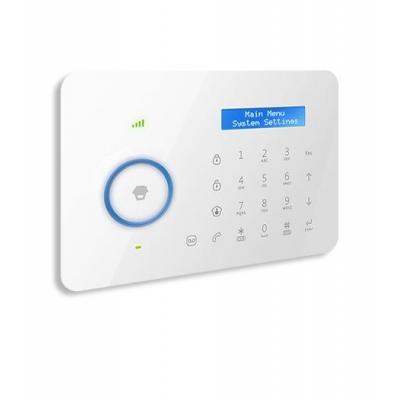 Chuango toegangscontrolesystem: Dual-Network Alarm System, 315 - 433.92 MHz, 6 Alarm Phone, AC 110V-240V, 50/60Hz - Wit