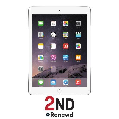 2nd by renewd tablet: Apple iPad Air 2 WiFi refurbished door 2ND - 32GB Zilver (Refurbished ZG)