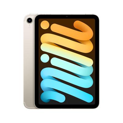 Apple iPad mini (2021) 8.3-inch Wi-Fi + Cellular 64GB Starlight Tablet - Zilver