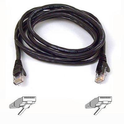 Belkin High Performance Category 6 UTP Patch Cable 2m Black Netwerkkabel - Zwart