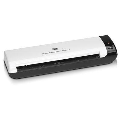 HP scanner: Scanjet Professional 1000 Mobile Scanner - Zwart, Wit