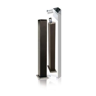 König Speaker: Bluetooth + NFC tower speaker - zwart