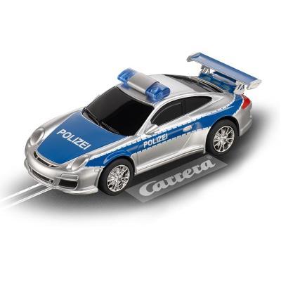 """Carrera toy vehicle: Porsche 997 GT3 """"Polizei"""" - Blauw, Zilver"""