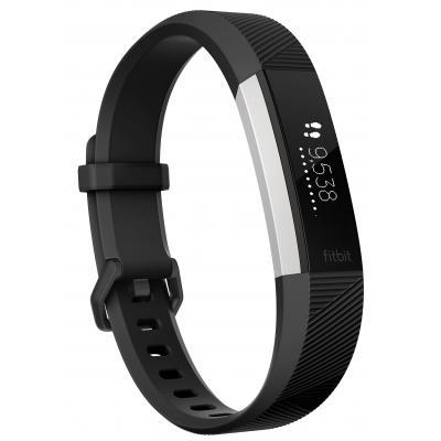 Fitbit wearable: Alta HR - Zwart, Roestvrijstaal