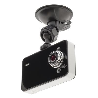 "Valueline : 6.096 cm (2.4"") Dashboard Camera 1280x720, 1/7"" CMOS, miniUSB2.0, microSD - Zwart, Zilver"