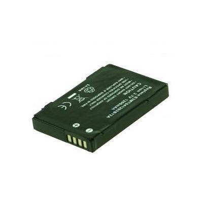 2-Power Internal Battery for HP iPaq rw6828 - Zwart