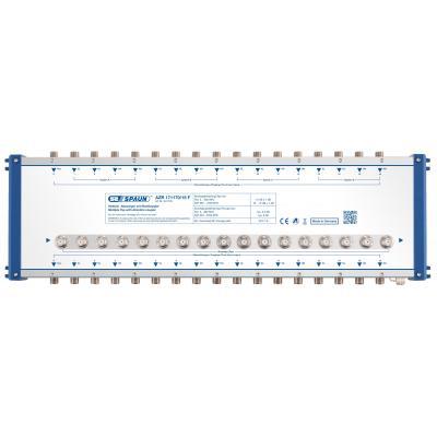 Spaun AZR 171170/15 F Kabel splitter of combiner - Blauw, Zilver