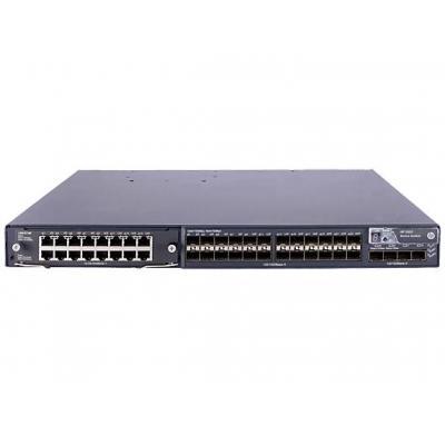 Hewlett Packard Enterprise 5800-24G-SFP w/1 Interface Slot Switch - Grijs