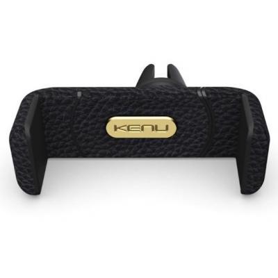 Kenu houder: Airframe+ Leather Edition - Zwart