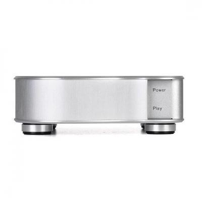 Silverstone audio converter: EB01-E - Zilver