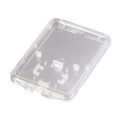 Hama : SD and microSD Slim Box - Transparant