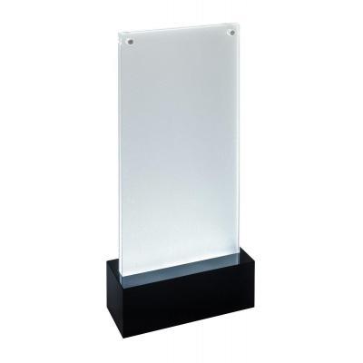 Sigel LED, 105 x 210 mm, Acrylic, 2 x 1.5 V AA, black
