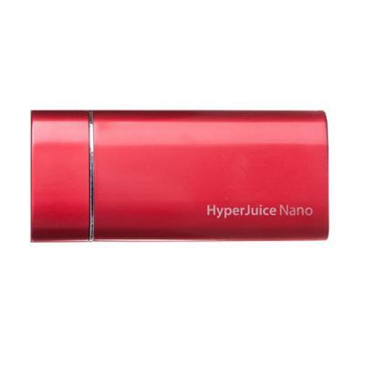 HyperJuice 1800mAh Nano Powerbank - Rood