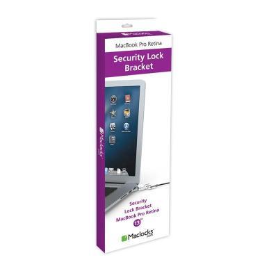 Maclocks kabelslot: Lock Bracket - Security cable lock - Zwart