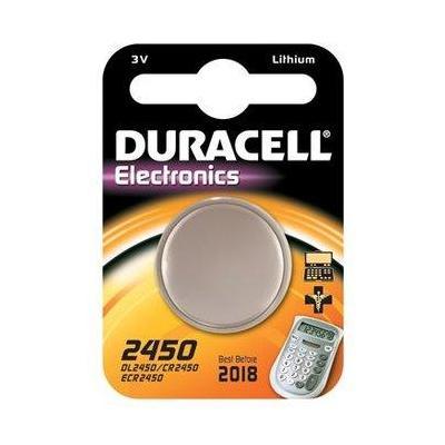 Duracell batterij: 2450 - Roestvrijstaal