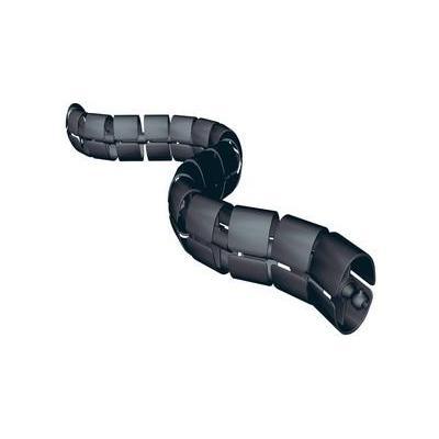 Bachmann kabel beschermer: Premium Set (for vertical cable routing), Black - Zwart