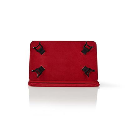 Nedis Tablet Folio Case, 7', Universal, Red Tablet case