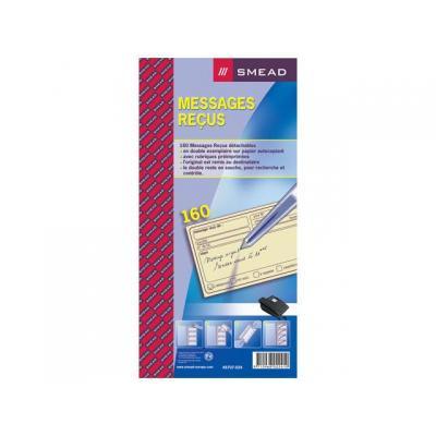 Atlanta telefoonberichten kussen of boek: Terugbelboek 74x125mm 2-v fr/blok 160