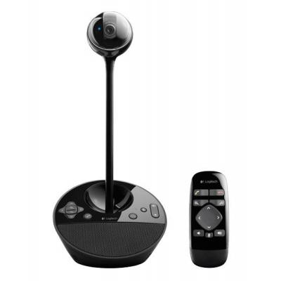 Logitech webcam: BCC950 ConferenceCam - Zwart