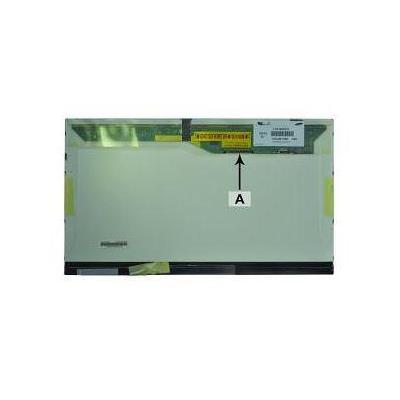 """2-power notebook reserve-onderdeel: 46.736 cm (18.4 """") FullHD 1680x945 CCFL1 Glossy - Zwart, Groen"""